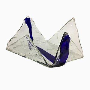 Centro de mesa de cristal de Murano de Carlo Nason para Mazzega, años 60