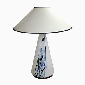 Lampe de Bureau Vintage en Verre Murano, 1970s