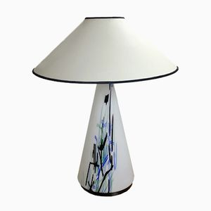 Vintage Murano Glass Table Lamp, 1970s