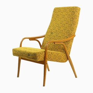 Tall Mid-Century Armchair from TON, 1960s