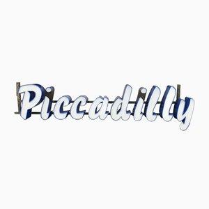 Vintage Piccadilly Schild