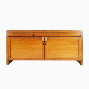Vintage R08 Oak Sideboard by Pierre Chapo, 1975