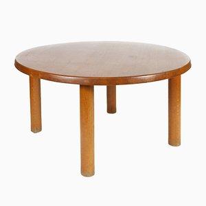 T02 Oak Dining Table by Pierre Chapo, 1974