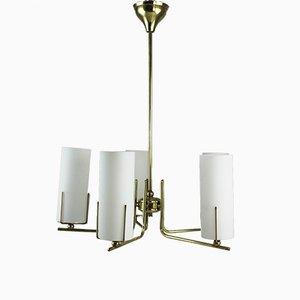 Lámpara de techo vintage, años 50