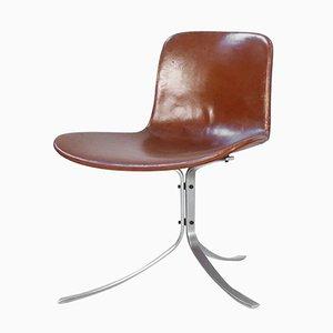Chaise PK9 par Poul Kjaerholm pour Kold Christensen, 1960s