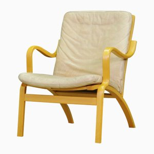 Vintage Danish Leather Armchair from Stouby, 1970s