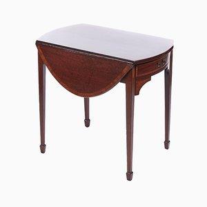Antique Georgian Inlaid Mahogany Pembroke Table