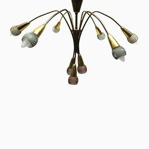 Vintage Sputnik Hanging Lamp, 1950s