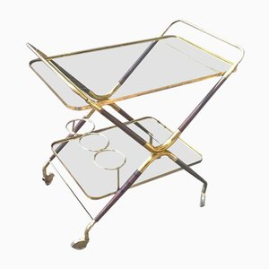 Serving Bar Cart by Piero Fornasetti, 1950s