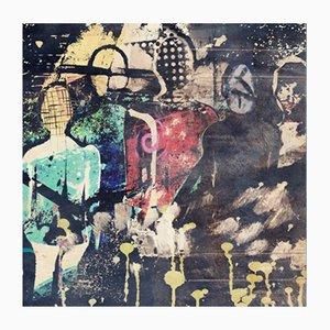 Stampa grafica The Gathering di Adrian Purgał per Galaeria Factory