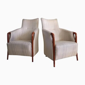 Vintage Armlehnstuhl mit hoher Rückenlehne