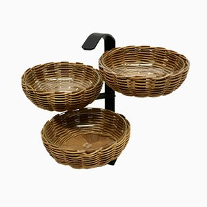 Mid-Century Basket Stand, 1960s