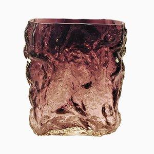 Humppila Glass Vase by Kaj Blomqvist, 1970s