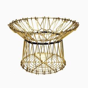 Vintage Folding Basket, 1950s