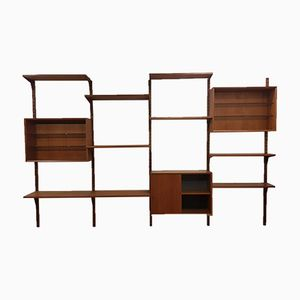 Danish Royal Teak Library System by Poul Cadovius for Cado, 1960s