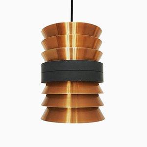 Lampe à Suspension en Cuivre de Doria Leuchten, 1960s