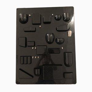 Mueble de almacenamiento de pared UTEN-SILO de plástico de Dorothee Maurer-Becker para Design M, 1966