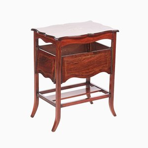 Edwardian Inlaid Rosewood Centre Table