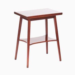 Petite Table d'appoint ou Jeux Antique en Acajou