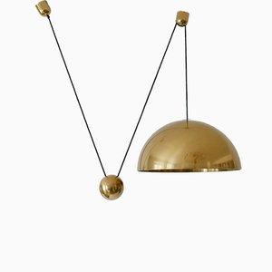 Lámpara colgante Solan de contrapeso de Florian Schulz, años 80