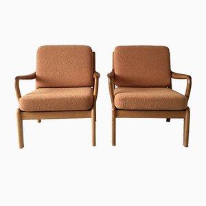 Dänische Mid-Century Sessel aus Teak von L. Olsen & Son, 2er Set