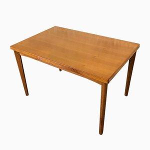 Table de Salle à Manger Vintage en Teck de Burchardt-Nielsen