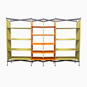 Combinable Spazio Shelving System by BBPR for Olivetti Synthesis, 1960s