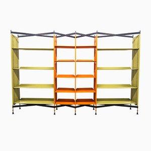 Libreria Spazio di BBPR per Olivetti Synthesis, anni '60