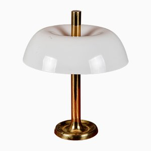 Lámpara de mesa grande de Egon Hillebrand para Hillebrand Lighting, años 70