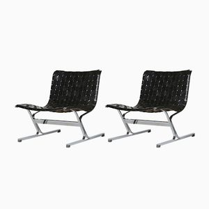 PLR1 Lounge Chairs by Ross Littell for Herman Miller, 1960s, Set of 2