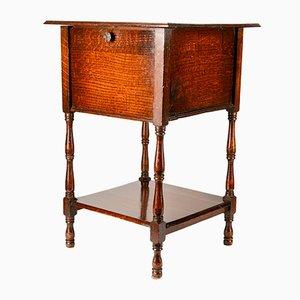 Tavolino vintage in quercia, Regno Unito