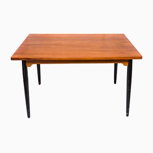 Vintage Teak Extendable Dining Table by Ilmari Tapiovaara for Edsby Verken