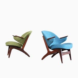 Vintage Sessel von Arne Hovmand Olsen, 2er Set