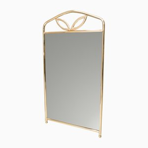 Golden Hollywood Regency Wall Mirror, 1960s