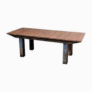 Large Vintage Industrial Table