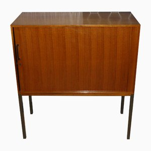 Mid-Century Cabinet on Tubular Steel Frame