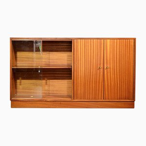 Mid-Century Walnut Display Cabinet, 1960s