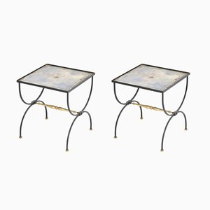 Vintage French Cocktail Tables, 1950s, Set of 2