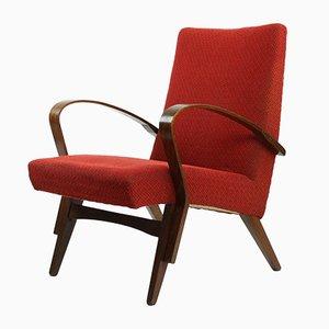 Mid-Century Stuhl aus Bugholz, 1960er
