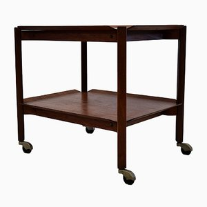 Mid-Century Scandinavian Teak Serving Trolley
