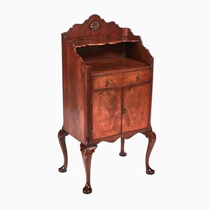 Burr Walnut Side Cabinet, 1920s