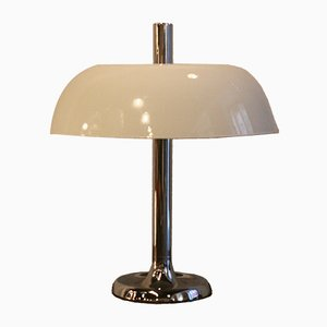 Large Vintage Mushroom Table Lamp from Hillebrand Lighting