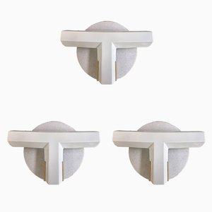 OTI 1370 Wandleuchten von Tobia & Afra Scarpa für Flos, 1983, 3er Set