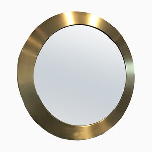 Brass Mirror by S. T. Valenti, 1970s