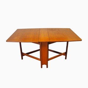 Table de Salle à Manger à Abattant Mid-Century en Teck de McIntosh