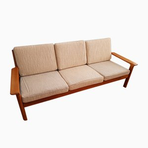 Vintage Danish Sofa by Juul Kristensen by Glostrup