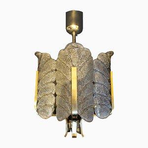 Lampada in vetro di Carl Fagerlund per Orrefors, anni '60
