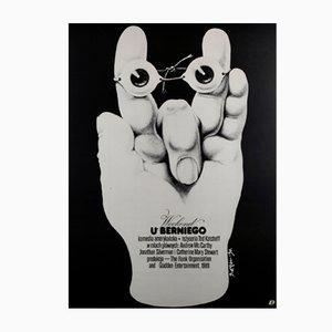 Affiche de Film Weekend At Bernie's par Jakub Erol, Pologne, 1990