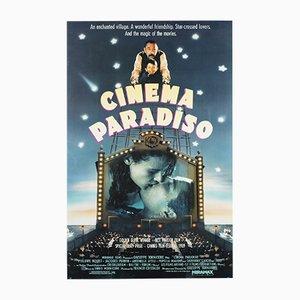 Póster americano de la película Cinema Paradiso, 1990