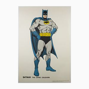 Vintage Original Batman Poster by Carmine Michael Infantino for G & F Posters, 1966